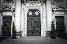 Berlin Cathedral main doors - Berlin Germany