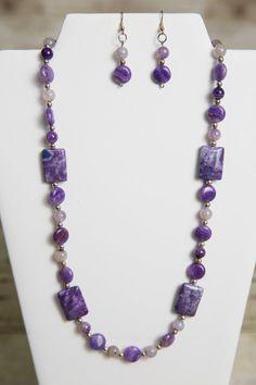 Viola pizzo pazzo agata pietra preziosa di jewelrystyleandmore