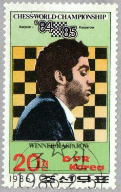 Chess world championships 1984/1985 Moscow