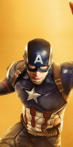 Captain America, Chris Evans, marvel studio, movie, Avengers: Infinity War, 1080x2160 wallpaper
