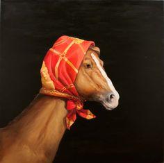 Sir John Sulman Prize 2011 - Royal Mount by Joanna Braithwaite Cool Hats, Animal Paintings, Make Me Smile, Art Projects, Art Gallery, Horses, Bird, Artists, Artwork