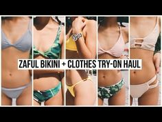 5304ae90d4b48 Zaful Bikini Clothes Try-on Haul Review! Zaful Bikinis