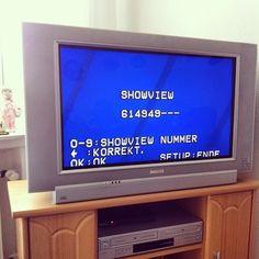 Das Programmieren mit ShowView galt als Höhepunkt der Technik und hat sich superschnell durchgesetzt. | 29 Dinge, die Kinder heute nicht mehr kapieren