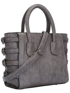 41a4cf28a8 Grey Bag w Buckle Detail – 4hearts  greypurse  greydesignerbag Μοδάτες  Τσάντες