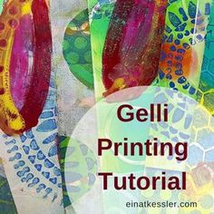 I'm so excited to share with you The Basics of Gelli Printing! This is such a fun way of creating backgrounds, art journal pages and other mixed media projects that once you start it's kind of hard to stop. In this video I will cover the basic techniques for gelli printing by using acrylic paints, stencils and found objects. The basics of gelli printing Gelli printing sometimes has an unpredictable aspect. When you apply the paint on the gelli plate you never really know how it wi...