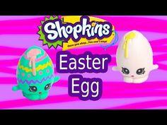 Custom Shopkins Season 1 Pastel EASTER EGG Googy Painting DIY Craft Toy Cookieswirlc Video - YouTube