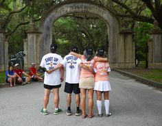 """Savannah Grit 175k Stage Race Awards Ceremony at Wormsloe Historic Site. Team """"Shut Up and Drink Your Beer"""" won the Grit Team Aspect. May 25, 2015. #ultrarunning #wormsloe #stagerace #rungeorgia #runsav"""