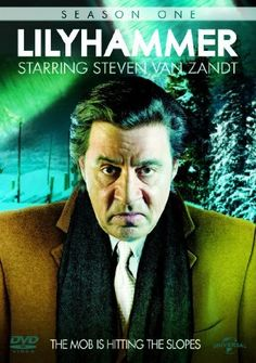 LILYHAMMER SEASON 1.  After Frank 'The Fixer' Tagliano testifies against his Mafia boss in New York, he enters the Witness Protection Program and makes an unusual demand: He wants to be set up with a new life in the Norwegian small town of Lillehammer, or as he calls it, 'LILYHAMMER.  http://highlandpark.bibliocommons.com/search?utf8=%E2%9C%93&t=smart&search_category=keyword&q=lilyhammer&commit=Search