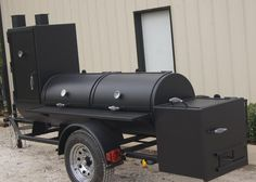 We believe that you should be able to afford quality custom BBQ pit smokers and grills that are built to last a lifetime. Bbq Smoker Trailer, Bbq Pit Smoker, Fire Pit Grill, Fire Pits, Custom Bbq Smokers, Custom Bbq Pits, Custom Fire Pit, Bbq Grill Island, Barbecue Grill