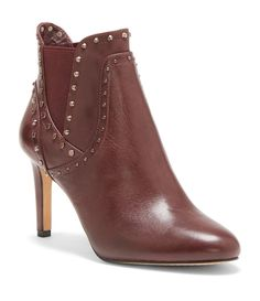 7be0dc62c0d Vince Camuto Consheta Leather Studded Booties  Dillards Vince Camuto