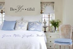 Beautiful Wall decal  - Be You tiful Wall decal. $25.00, via Etsy.