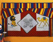 Circus Lion, Camel, Embroidery and Hanky PATTERN for Nursery
