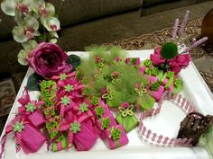 Tray Decoration For Baby Prepossessing Baby Girl Baby Arrangement  Chocolate Decoration For Special Design Ideas