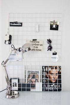 Het inspiratierek (het witte gaas komt van de GAMMA) nsmbl.nl