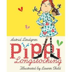 Newly illustrated Pippi. My daughters would luv this!