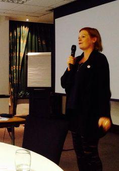 Kirsten Buchholzer auf der #tarot conference in London 2014 representing #Tarotverband Tarot e.V. & #diemantiker
