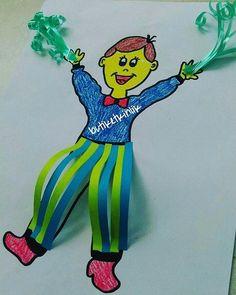 Dünkü etkinliğin devamı gelsin o zaman ☺ Bu da gösteri yapan erkek çocuk etkinliğimiz  Üç boyutlu pantolonumuz ve ellerdeki ponpon minikler için çok ilgi çekici oldu  Etkinlik kalıplarına profilimdeki linkten ulaşabilirsiniz  #butiketkinlik #23nisan #23nisankutluolsun #okuloncesi23Nisan #etkinlikpaylasimi #yaraticietkinlik #preschool #preschoolactivities #igteachers #anasinifi #anasinifietkinlik #kindergarten #diy #sanatetkinligi #cocukgelisimi