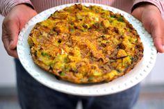 As Minhas Receitas: Tortilha de Batata Doce e Queijo da Ilha