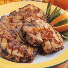 Orange-Ginger Pork Chops Recipe  http://www.stockpilingmoms.com/2012/06/orange-ginger-pork-chops-recipe/