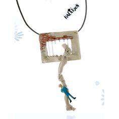 Handmade jewel pendant of sterling silver 925 Prison Escape, Handmade Silver, Pendants, Symbols, Jewels, Sterling Silver, Jewerly, Hang Tags, Pendant