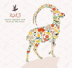 Year Of The Sheep Cliparts, Stock Vector And Royalty Free Year Of ...