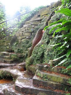 Chalice Well, Glastonbury by jackiesjottings, via Flickr Pinned via flickriver, when I saw this I had forgotten it was one of my own photos