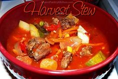 Harvest Stew - Mom's Kitchen Pantry