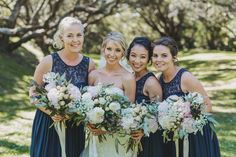A Fresh & Fabulous Auckland Wedding By Coralee Stone - Paper & Lace