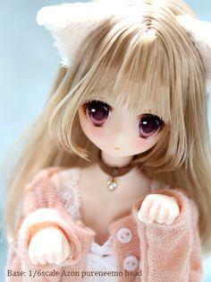 Kawaii Doll, Kawaii Anime Girl, Beautiful Barbie Dolls, Pretty Dolls, Anime Dolls, Blythe Dolls, Dream Doll, Smart Doll, Doll Repaint