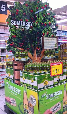"""Somersby """"Made from real apples"""" block stack 