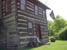 1830 Log House. Upper St. Clair, PA