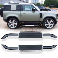 Vendor: Victorious Automotive Type: car Price: 499.00  Description ▶Fits car model:land rover defend 90 ▶Material: Top grade Aluminum alloy, plastic, steel ▶Color: Same as picture showed ▶Package: 100% new in the box ▶Include items inside: 2 Steps + Mounting brackets +Install kits. Range Rover Accessories, Defender 90, Fit Car, Car Prices, Aluminium Alloy, Victorious, 2 Step, Mounting Brackets, New Product