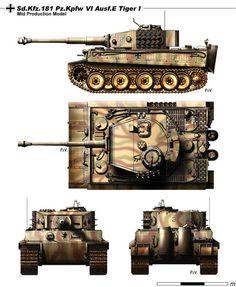 Ausf.E Tiger 1 - BFD