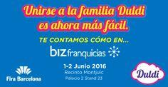 Durante los próximos días 1 y 2 de junio, en el Recinto Montjuïc de la Fira de Barcelona, se celebra, dentro del marco de bizbarcelona, la feria de franquicias BizFranquicias. ¡Y no nos lo queremos perder!  http://noticias.duldi.com/duldi-en-bizfranquicias-feria/