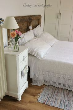 Old Door Headboard. Another DYI repurposing project Billie could tackle on downtime.