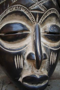 "This is a mask from the ""Chokwe"" tribe."
