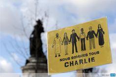 RT.  @afpfr: #JeSuisCharlie #NousSommesCharlie Place de la République, Paris #AFP  #MarcheRepublicaine #OnFaitLaPaix