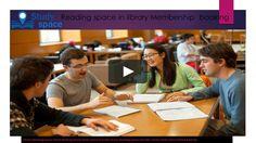 #Librarystudyspace Membership #onlinebooking service