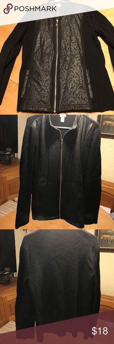 Awesome Zenergy jacket sz 3 fits 14-18 In like new condition with no issues from a pet free smoke free home. Jackets & Coats
