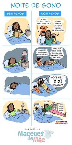 Noite de muito sono Im Scared, Future Baby, Cute Pictures, Comics, Reading, Kids, Birth, Quotes, Pregnancy Jokes