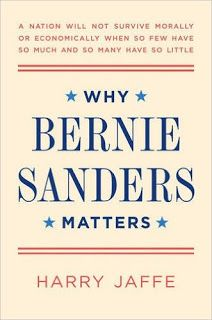 Author Harry Jaffe on WHY BERNIE SANDERS MATTERS