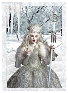 """""""Snow Queen"""" by sweetfirefly ❤ liked on Polyvore featuring art"""