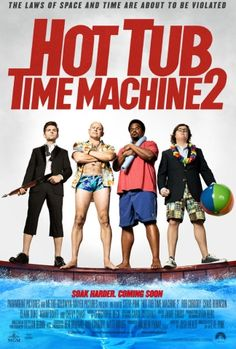 Poster for Film Hot Tub Time Machine 2