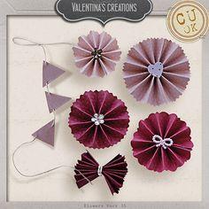 Flowers Pack 35 by #valentina #theStudio #flowers #digiscrap #cu