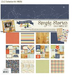 NEW!  Under the Stars Simple Set