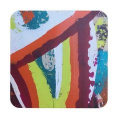 Walking the Wire Set of 6 Coasters - original gifts diy cyo customize