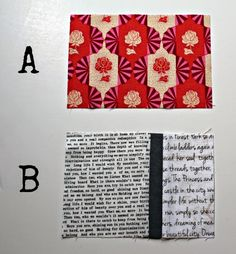 A Quilter's Table: Tutorials