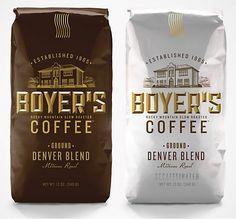 Boyer's Coffee Bags  2011 CA Design Annual  TDA Advertising & Design