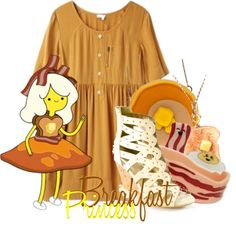 """""""Breakfast Princess from Adventure Time"""" by magykgirlz on Polyvore"""