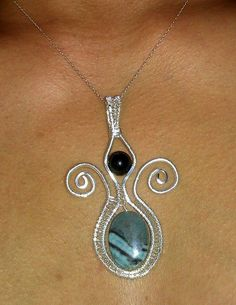handcrafted wire jewelry | Handmade Wire Jewelry Handwoven Sterling by LittleSparklesMaui, $40.00
